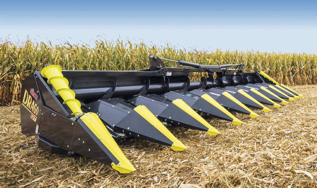 Testata-mais-Drago-GT-10-file-rows-Corn-head-maispfluecker-10-reihen-cabezal-de-maíz-10-hileras