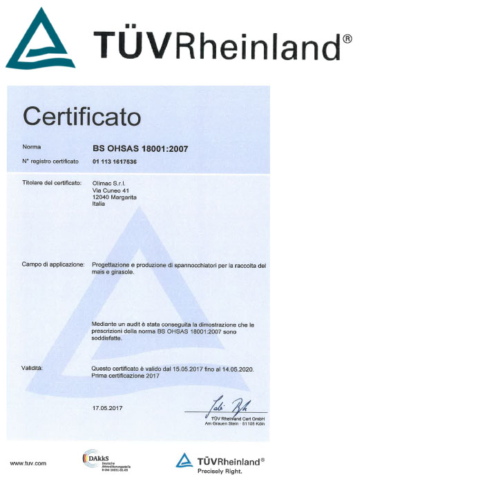 olimac-Certificazione-Internazionale-tuv-rheinland