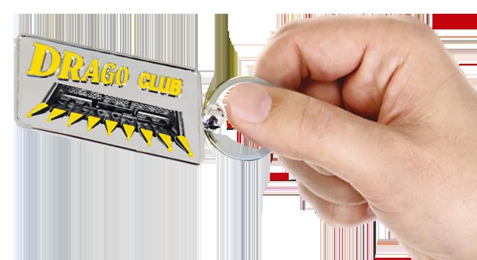 Olimac-drago-gold-portachiavi-key-chain-schluesselanhaenger-llavero