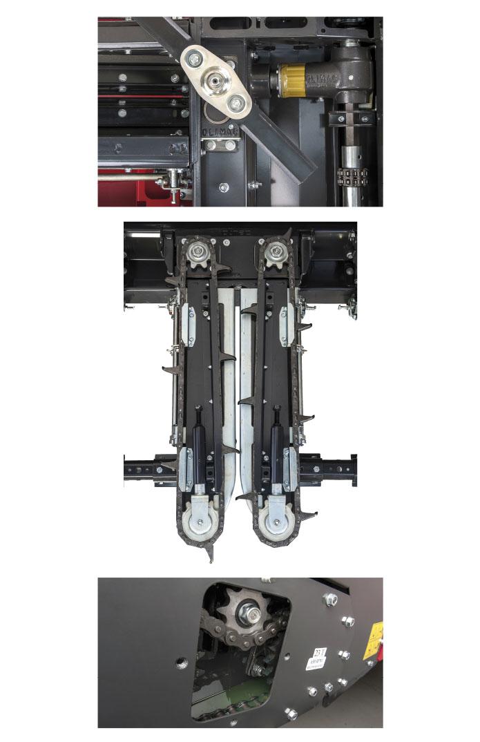Olimac-Drago-2-coppie-coniche-acciaio-temperato-catene-raccoglitrici-in-acciaio-rinforzato-facile-rapida-manutenzione-cylindrical-gears-in-hardened-steel-gathering-chains-in-reinforced-steel-easy-quick-maintenance-kegelradgetriebe-aus-gehaertetem-stahl-ernteketten-aus-gehaertetem-stahl-schnelle-einfache-wartung-pares-cónicos-acero-templado-cadenas-recolección-de-acero-reforzado-fácil-rápido-mantenimiento