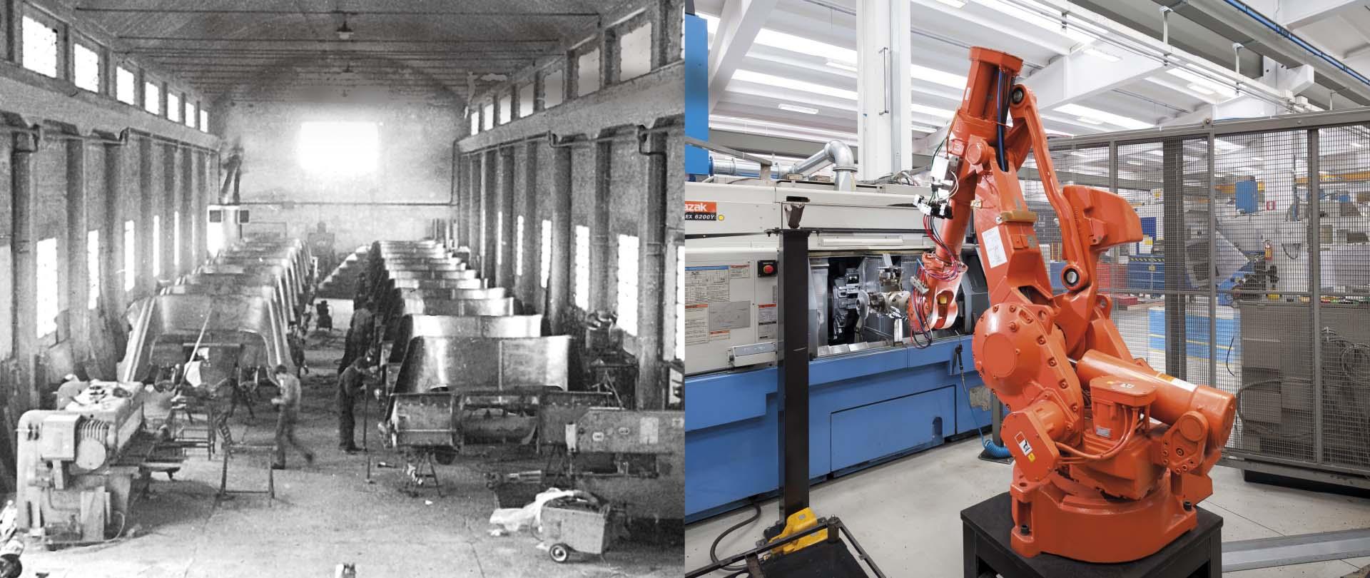 Olimac-vecchio-e-nuovo-stabilimento-old-and-new-plant-altes-und-neues-Werk-vieja-y-nueva-planta